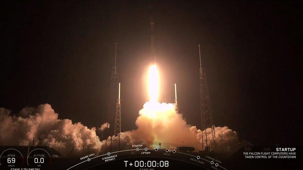 Raketa Falkon 9 poleće iz Kejp Kanaverala