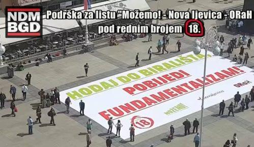 Ne davimo Beograd: Podrška za listu broj 18 na izborima za Evropski parlament 14