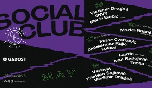 Poslednji mesec žurki Social Club za ovu sezonu započinje 3. maja 5