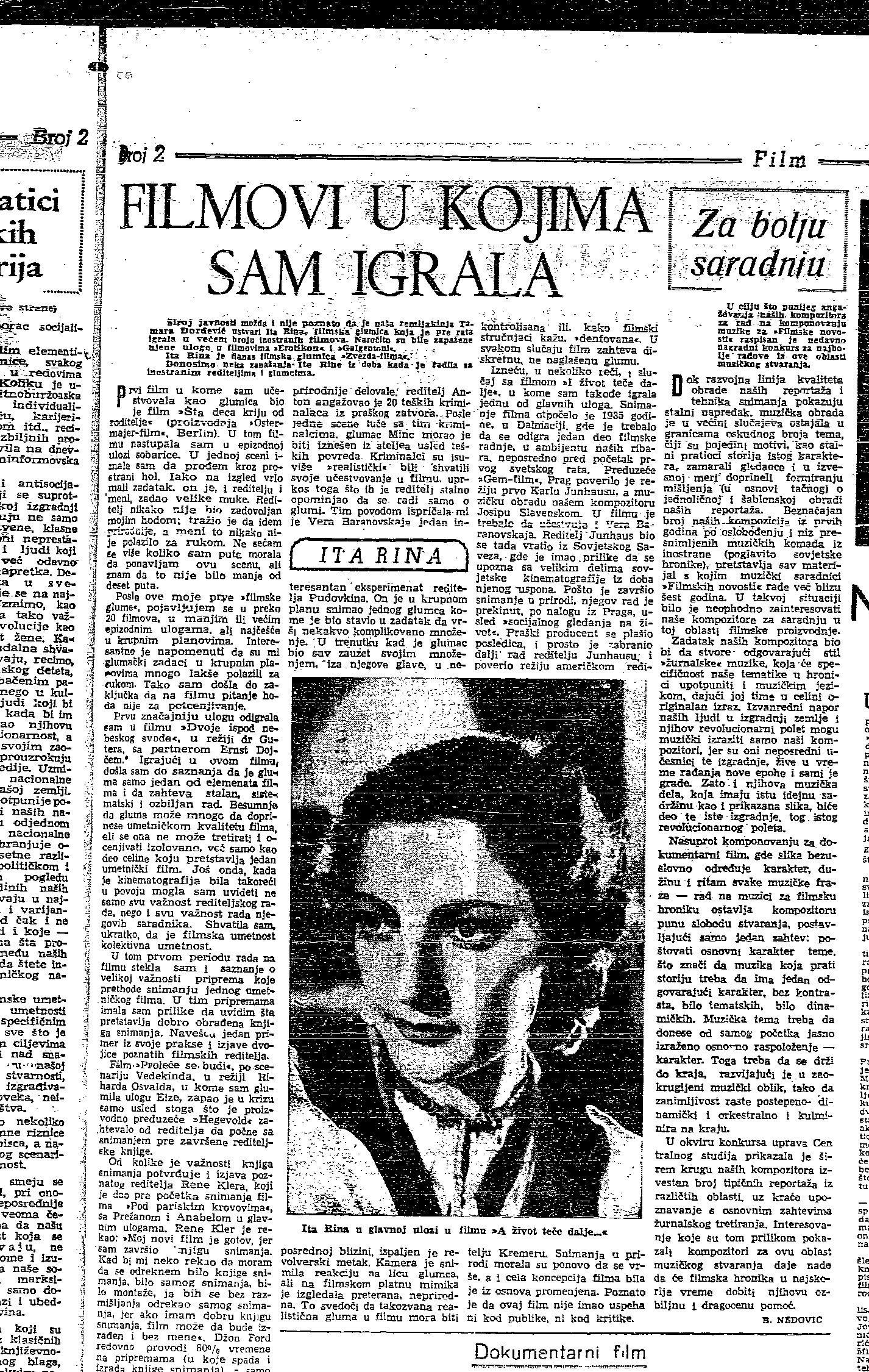 O čemu su se snimali srpski filmovi sredinom prošlog veka? 3