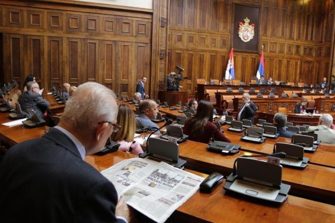 Usvojen rebalans budžeta Skupštine Srbije 1