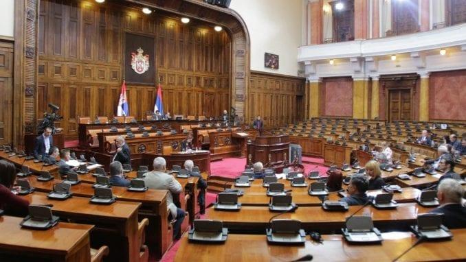 Skupština Srbije usvojila 180 zakona u 2019. godini 2