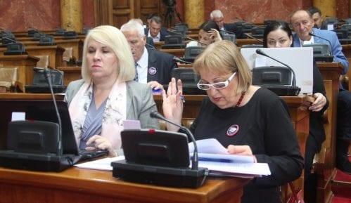 Poslanici Skupštine Srbije o amandmanima na leks specijalis o Moravskom koridoru 9