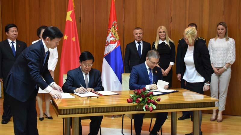 Stefanović i Kedži potpisali Memorandum o razumevanju o sprovođenju zajedničkih policijskih patrola 1