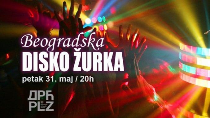 Beogradska disko žurka 31. maja u Dorćol Platz-u 1