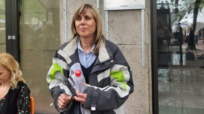Vlasnica Kanala 9 koja štrajkuje glađu dobila poziv na sastanak u Vladi u utorak 2