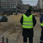 Incident na Trgu republike, Bastać blokirao radove (FOTO) 2
