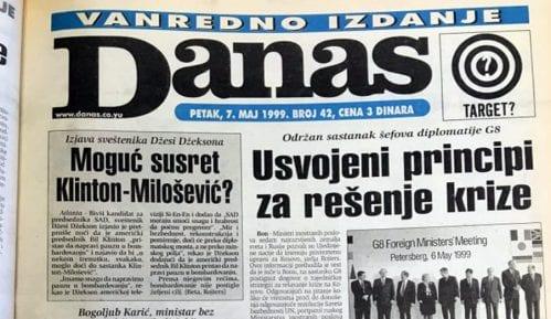 Šta je Mira Marković govorila tokom bombardovanja 1999. godine? 1