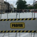 Incident na Trgu republike, Bastać blokirao radove (FOTO) 5