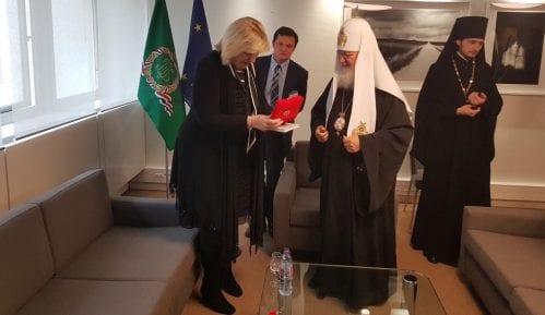 Dunja Mijatović sa patrijarhom Kirilom razgovarala o nasilju u porodici 6