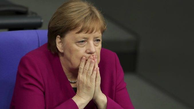 Merkel u Zagrebu na predizbornom skupu HDZ 2