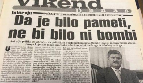 Dušan Mihajlović (1999): Da je bilo pameti ne bi bilo bombi 7