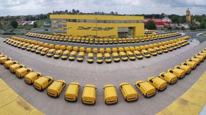 Pošta Srbije nabavila novih 146 dostavnih vozila 4