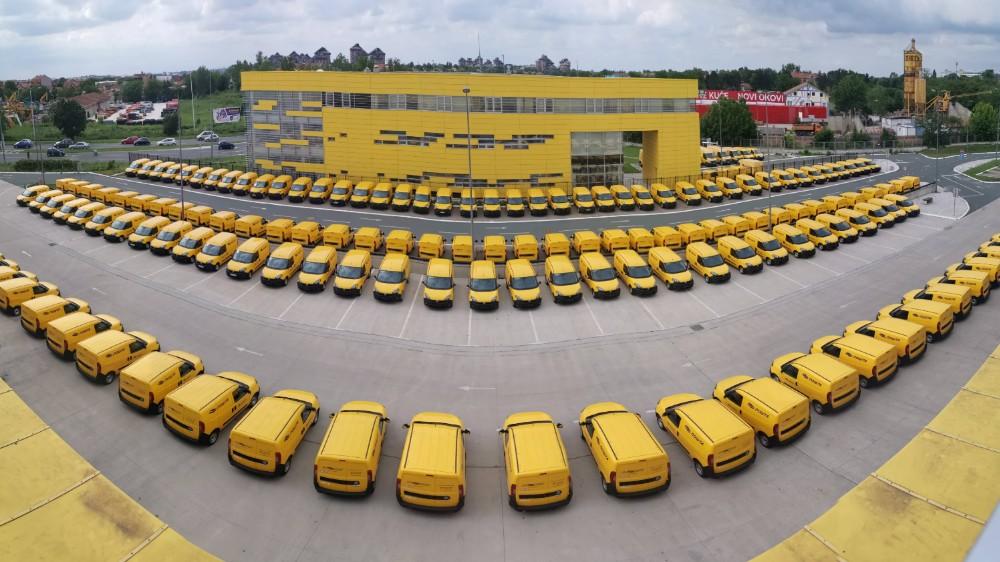 Pošta Srbije nabavila novih 146 dostavnih vozila 1