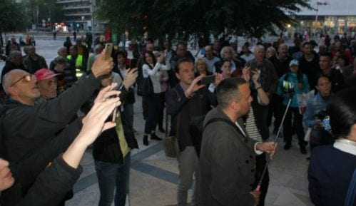 """Protesti """"1 od 5 miliona"""" održani u Kruševcu, Valjevu, Šapcu i Pančevu 13"""