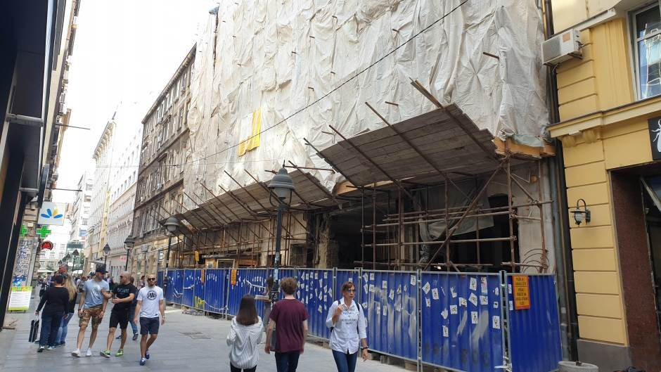 Preminuo radnik povređen na gradilištu u centru Beograda 1