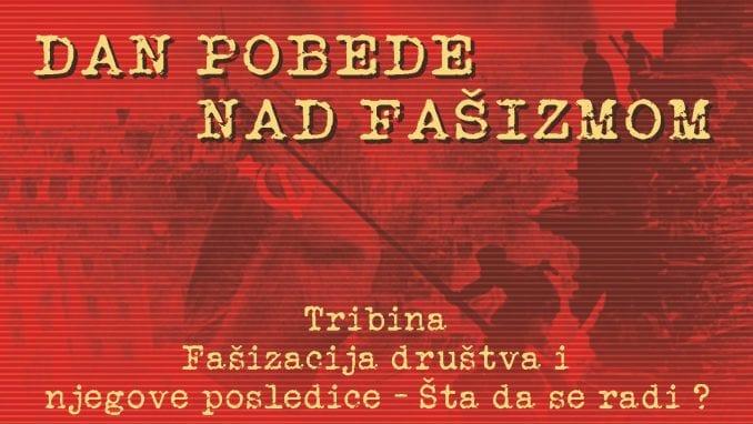 """Tribina """"Fašizacija društva"""" 9. maja u Novom Sadu 1"""
