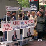 Naprednjaci protestovali ispred opštine Stari grad 14