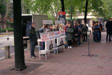 Naprednjaci protestovali ispred opštine Stari grad 5