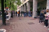 Naprednjaci protestovali ispred opštine Stari grad 3