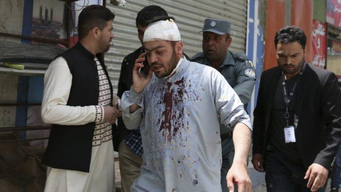 Devet povređenih u napadu talibana u Kabulu 4