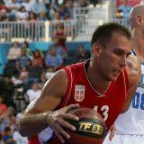 Basketaš Marko Ždero nosi zastavu Srbije na otvaranju Evropskih igara u Minsku 15