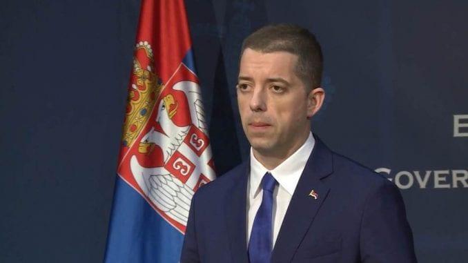 Đurić: Gađanje flašom dokaz da Priština nije dorasla za međunarodne organizacije 1