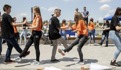 Maturantska parada 11. maja na Sava Promenadi 13