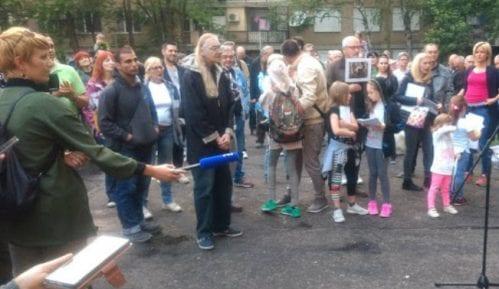 """Novi Sad: Održan protest građana """"Odbranimo parkić"""" 11"""