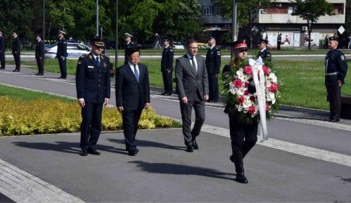 Stefanović i kineski ministar javne bezbednosti na vežbi pripadnika SAJ-a 3
