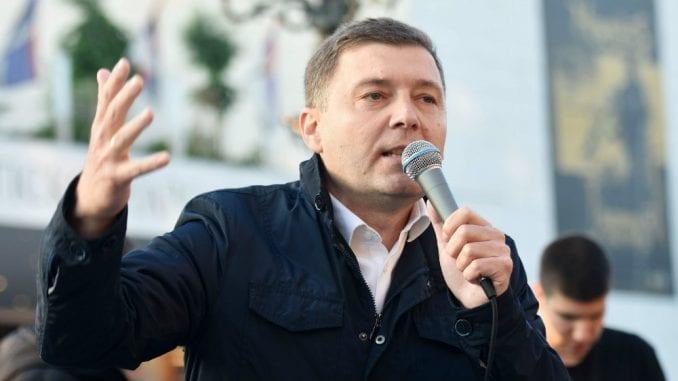 Zelenović: Pošteni izbori uslov koji ćemo jasno obrazložiti u Evropskom parlamentu 2