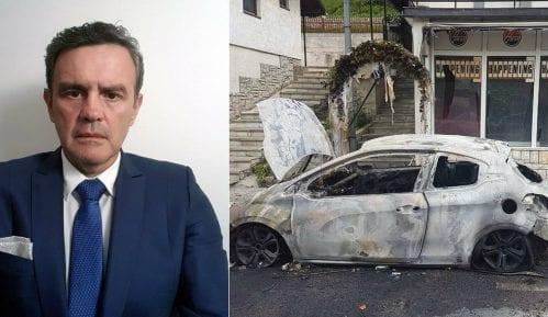 Nova Varoš, Nikola jelić, izgoreo auto