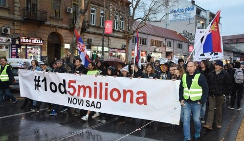 U petak u Novom Sadu novi protest protiv režima Aleksandra Vučića 14