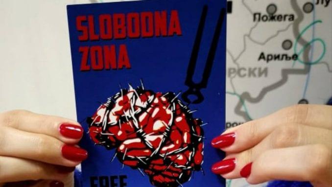 Nova stranka delila pasoše ambasadora Slobodne zone 1