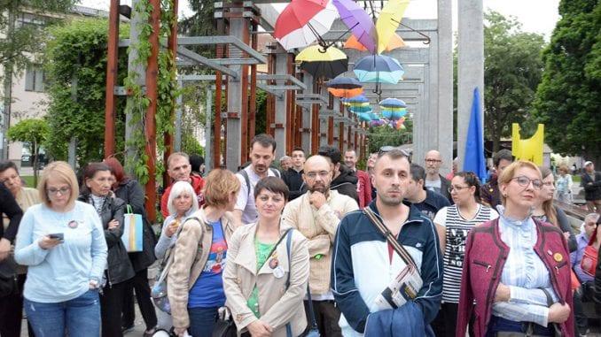 Protest u Požegi: Hoćemo da budemo slobodni građani 2
