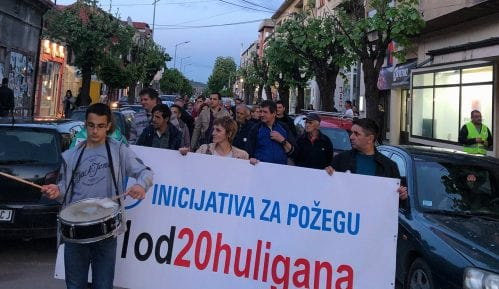 Protest u Požegi:Srbiji je potrebna lustracija 13