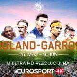 Gledajte Rolan Garos na Eurosport 4K kanalu 13