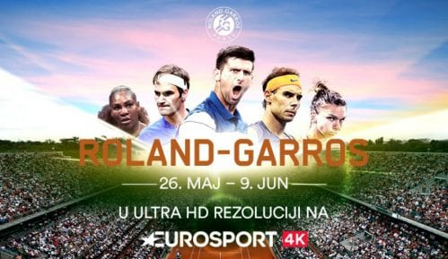 Gledajte Rolan Garos na Eurosport 4K kanalu 9