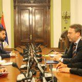 Ministarka pravde sa Osovskim o reformama u oblastima pravosuđa 10