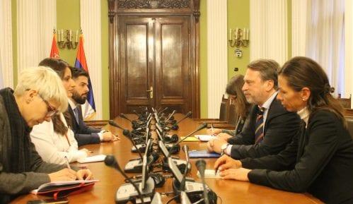 Ministarka pravde sa Osovskim o reformama u oblastima pravosuđa 3