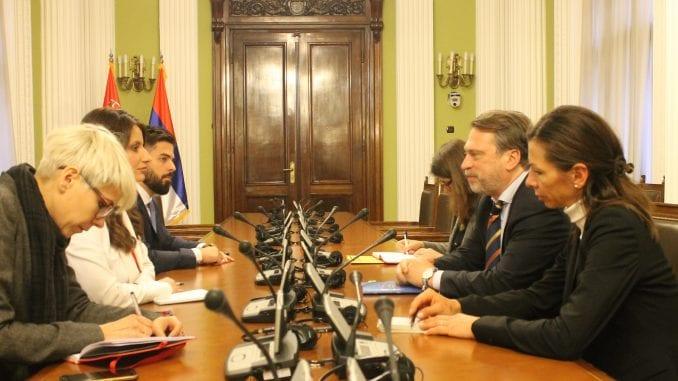 Ministarka pravde sa Osovskim o reformama u oblastima pravosuđa 2