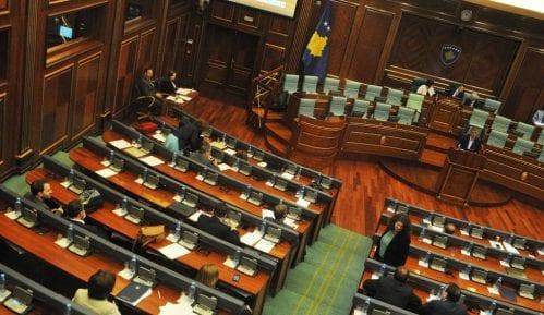 Sednica o raspuštanju Skupštine Kosova 22. avgusta 1