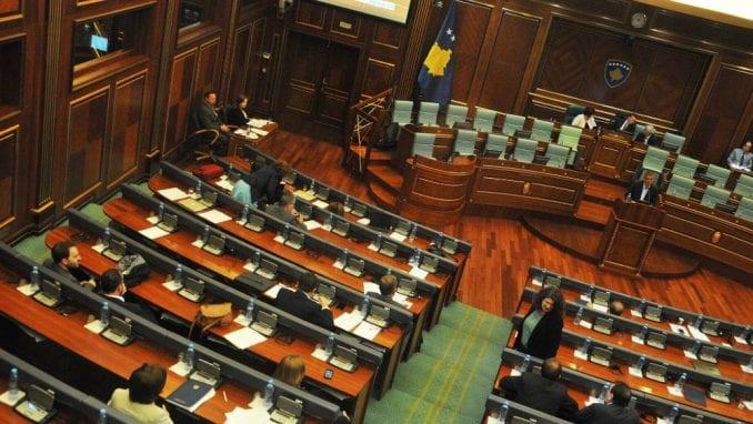 Sednica o raspuštanju Skupštine Kosova 22. avgusta 3