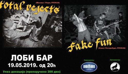 Total Rejects i Fake Fun nastupaju u nedelju u Svilajncu 7