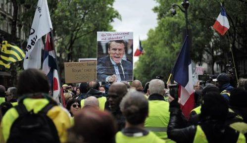 Žuti prsluci protestovali širom Francuske 25. vikend 12