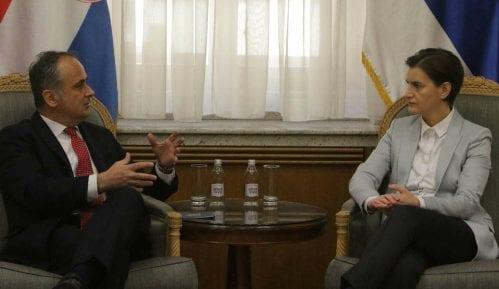 Brnabić sa ambasadorom Hrvatske: Poseta Plenkovića Srbiji bi bila dobar signal 11
