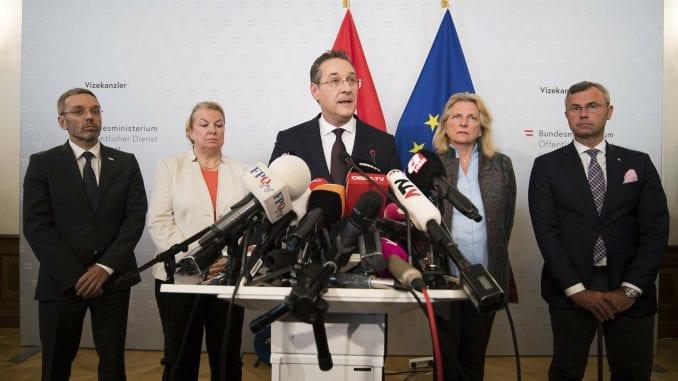 Ostavka austrijskog vicekancelara nakon kompromitujućeg snimka 1