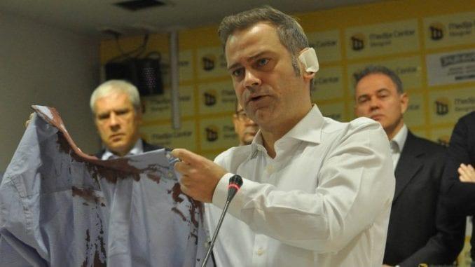 Na godišnjicu napada na Borka Stefanovića tribina opozicije u Kruševcu 1