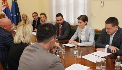 Premijerka sa predstavnicima više sindikata o kolektivnim ugovorima 12