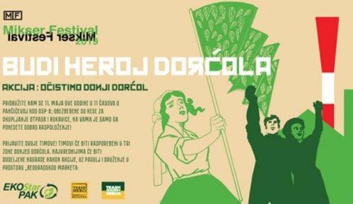 """Akcija čišćenja """"Budi heroj Dorćola"""" 11. maja 13"""